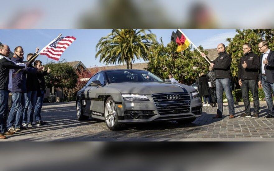 Autonomiškai važiuojantis Audi A7 Sportback