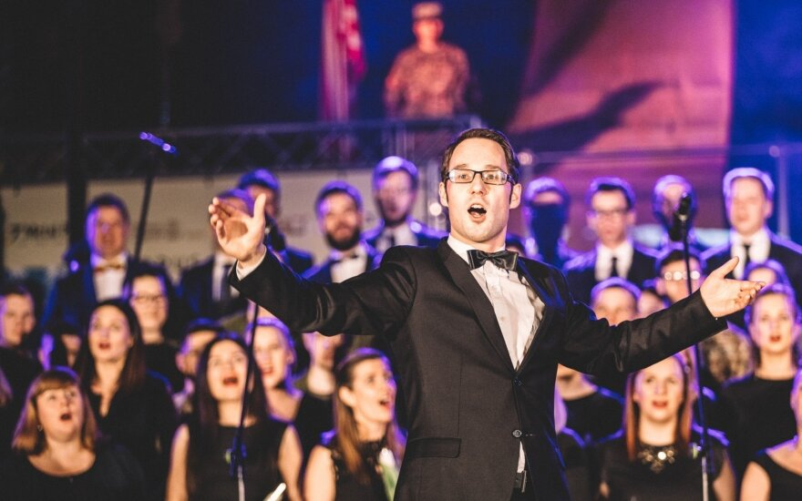 Bel Canto choro meno vadovas Egidijus Kaveckas FOTO: Mantas Gudzinevičius