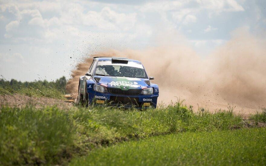 """Pirmąją vietą """"Rally Žemaitija"""" iškovojęs Vaidotas Žala: tokio ralio Lietuvoje nemačiau jau seniai"""