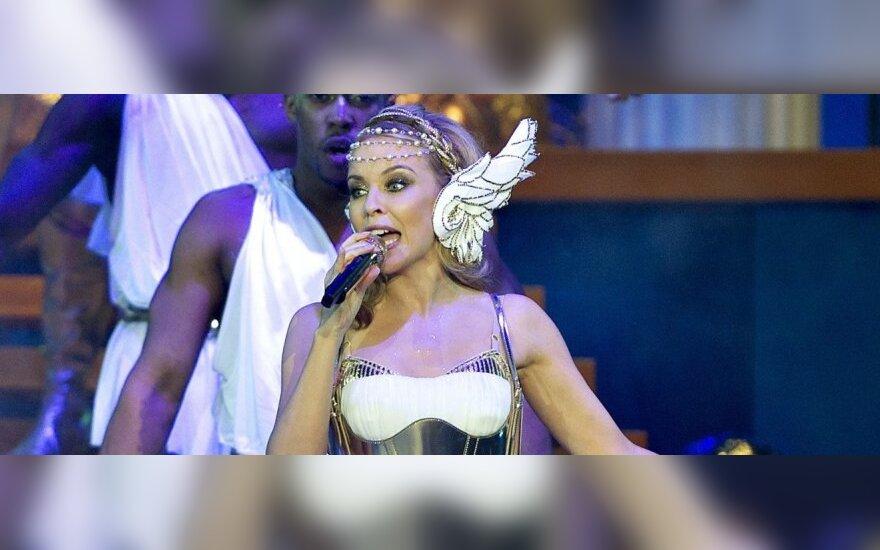 Į K.Minogue koncertą Vilniuje lankytojų prašoma atvykti anksčiau