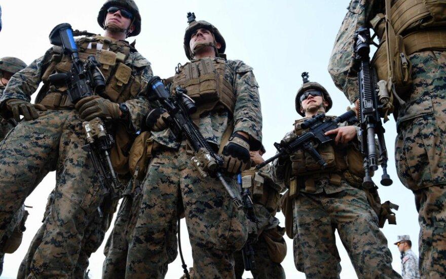 JAV jūrų pėstininkai