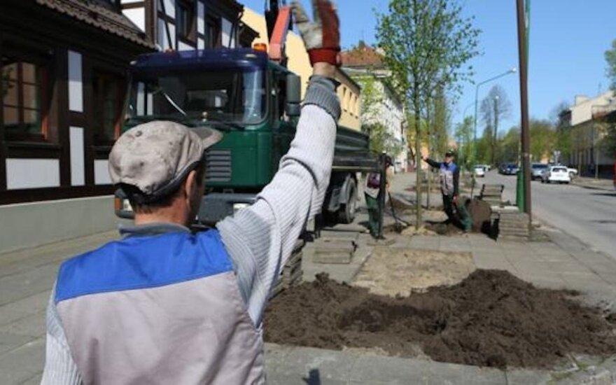 Klaipėdoje pradedama tvarkyti dar viena gatvė: bus eismo ribojimų