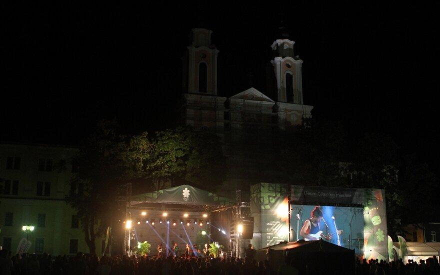 Kauno rotušėje atidarytas olimpinis miestelis