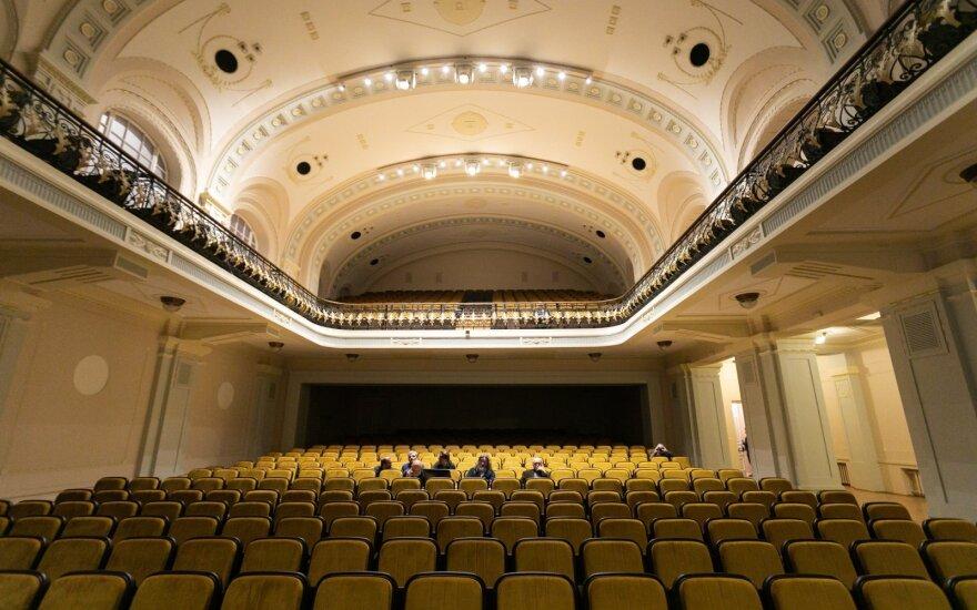 Pasižvalgykite, kaip atrodo atnaujinta Nacionalinės filharmonijos salė