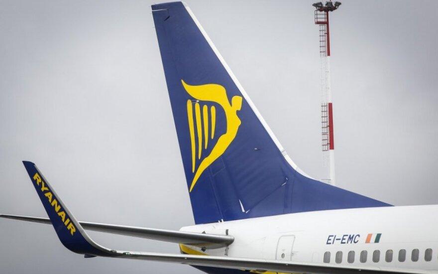 """""""Ryanair"""" pristatė naują maršrutą iš Kauno"""