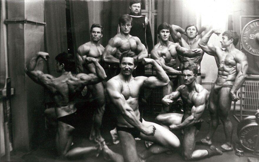 """Kultūrizmo klubas """"Olimpas"""" mini 50-metį"""