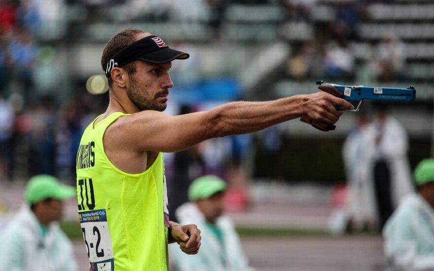 Justinas Kinderis / Foto:  UIPM/Nuno Goncalves