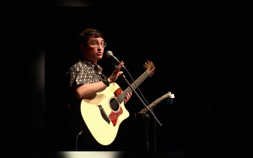 Į Lietuvą koncertuoti atvykstantis Timūras Šaovas skaitė paskaitas net Bobui Dylanui
