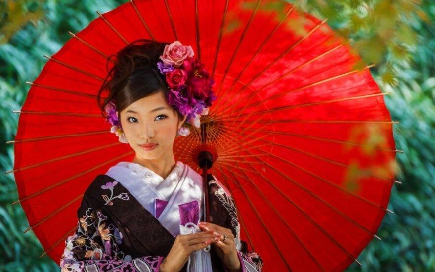Jei norite pamatyti geišas - skriskite į Kanazawą