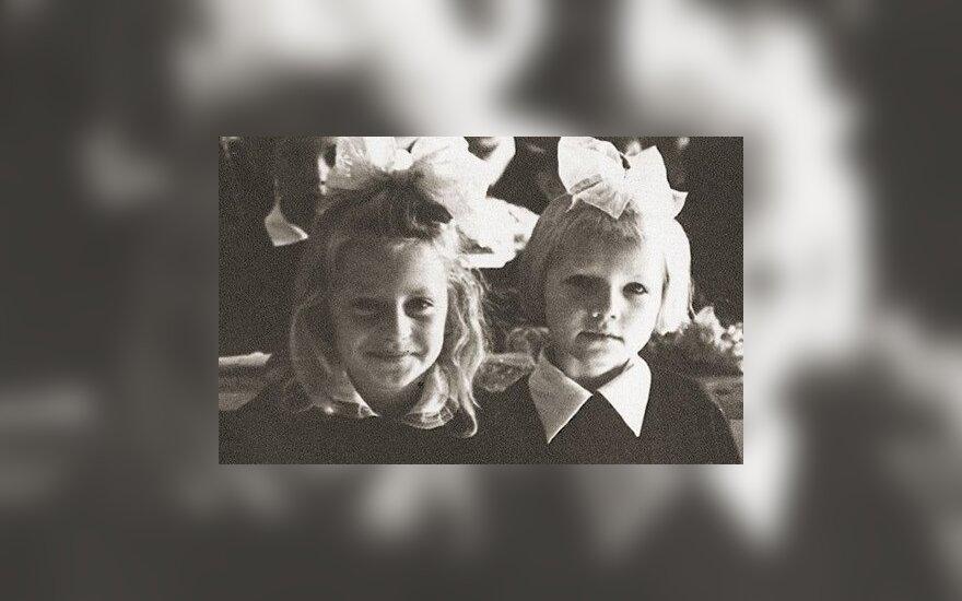 D. Grybauskaitė paviešino savo vaikystės nuotrauką