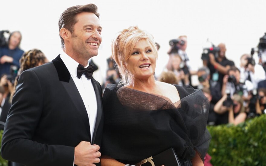 Hugh Jackmanas ir Deborra-Lee Furness