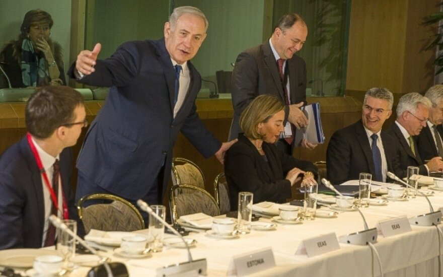 Meeting with Benjamin Netanyahu
