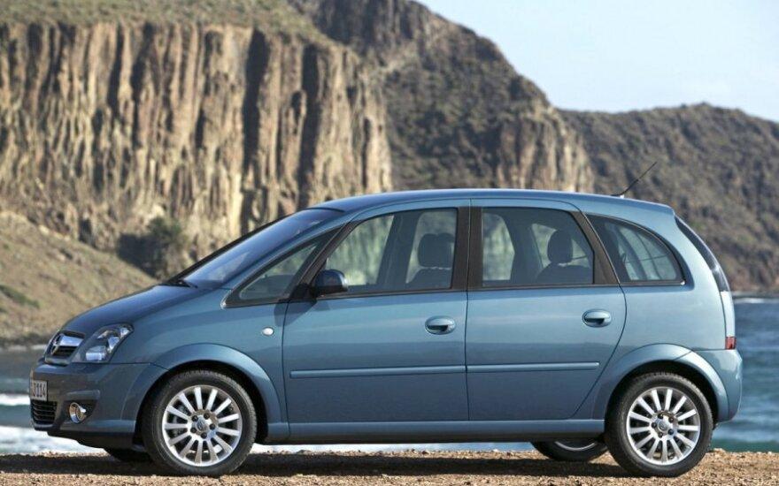 Pirmos kartos Opel Meriva
