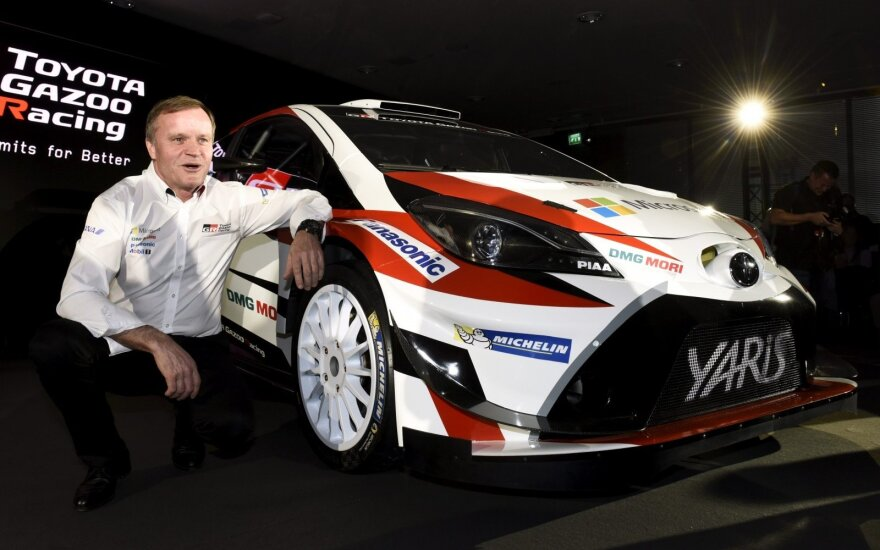"""Toyota Gazoo WRC"" komandos pristatymas"