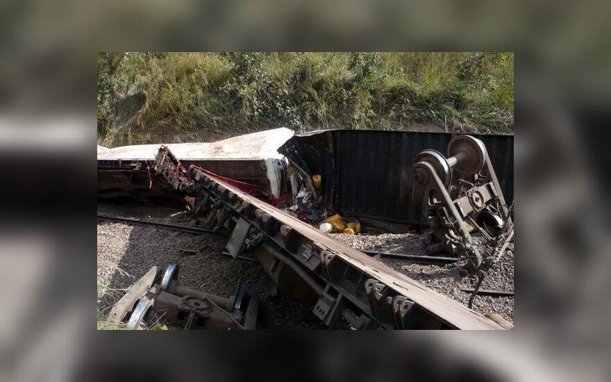 Kongo DR per traukinio avariją žuvo 32 žmonės, 91 sužeistas
