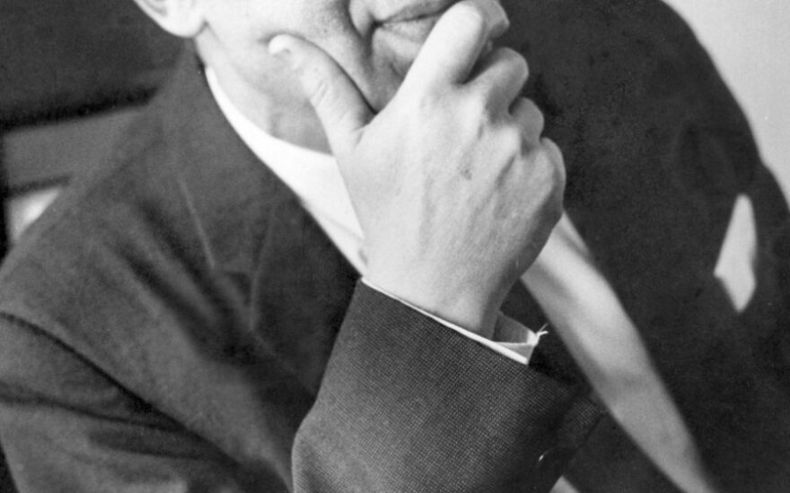"""Juozas Brazaitis. Iš knygos """"Ugninis stulpas""""."""