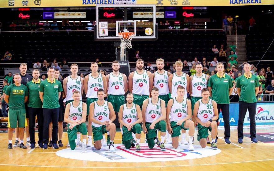 FIBA paskelbtame pasaulio čempionato pajėgumo reitinge Lietuvos rinktinė – devintoje vietoje