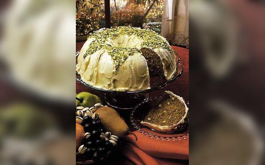 Kalifornijos pistacijų pyragas