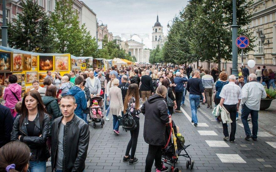 """""""Sostinės dienų"""" metu Vilniaus centre bus ribojamas eismas"""