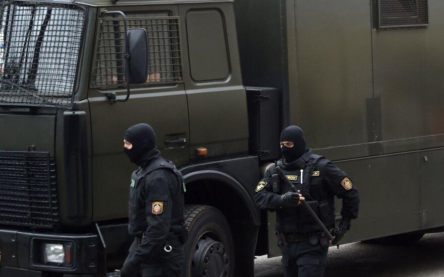 Per protestus Baltarusijoje sulaikyta 70 žurnalistų