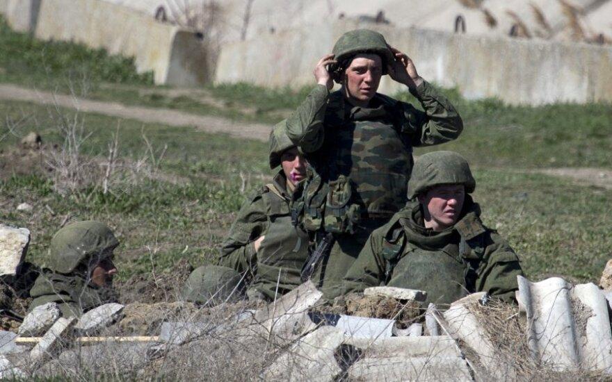 Kryme nušautas ukrainiečių karininkas