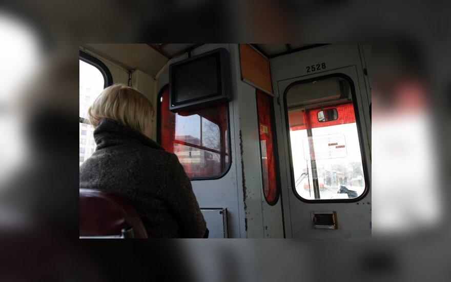 Kaune streikuoja troleibusų vairuotojai