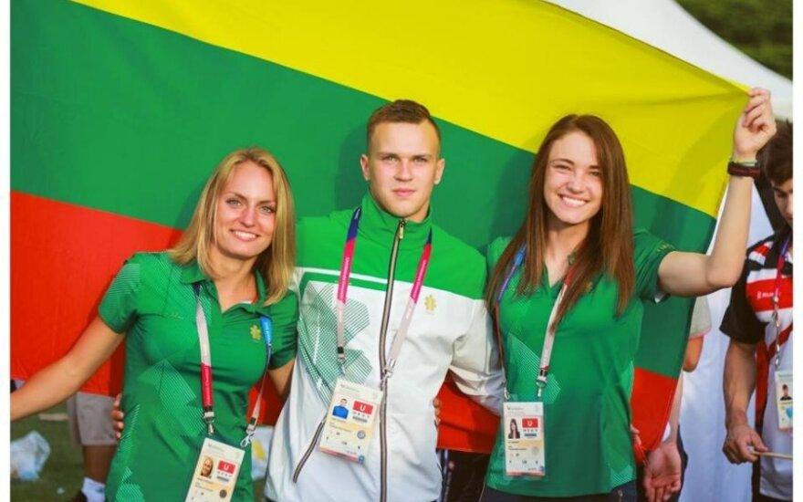 Eva Misiūnaitė, Lukas Gaudutis ir Monika Juodeškaitė
