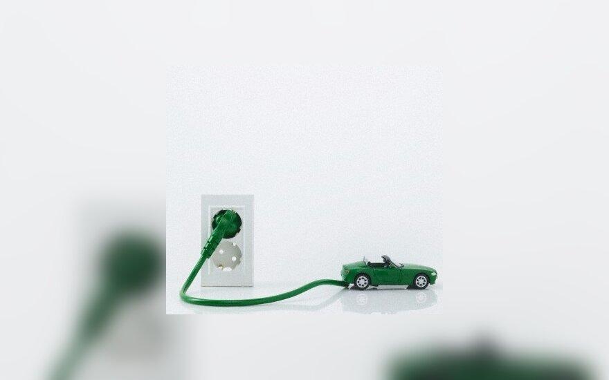 Elektromobilių ateitis: laikas keistis baterijoms!