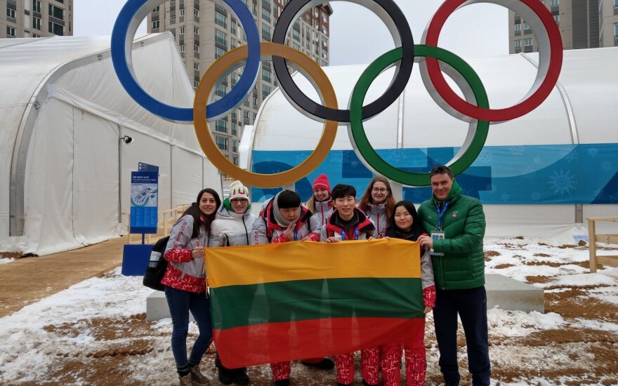 Pirmieji lietuviai Pjongčange: misija ir savanoriai
