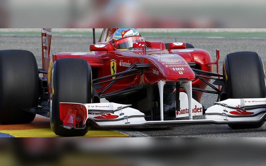 """Fernando Alonso (""""Ferrari"""")"""