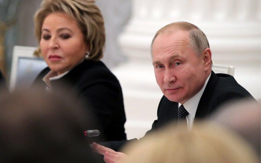 Valentina Matvijenko, Vladimiras Putinas