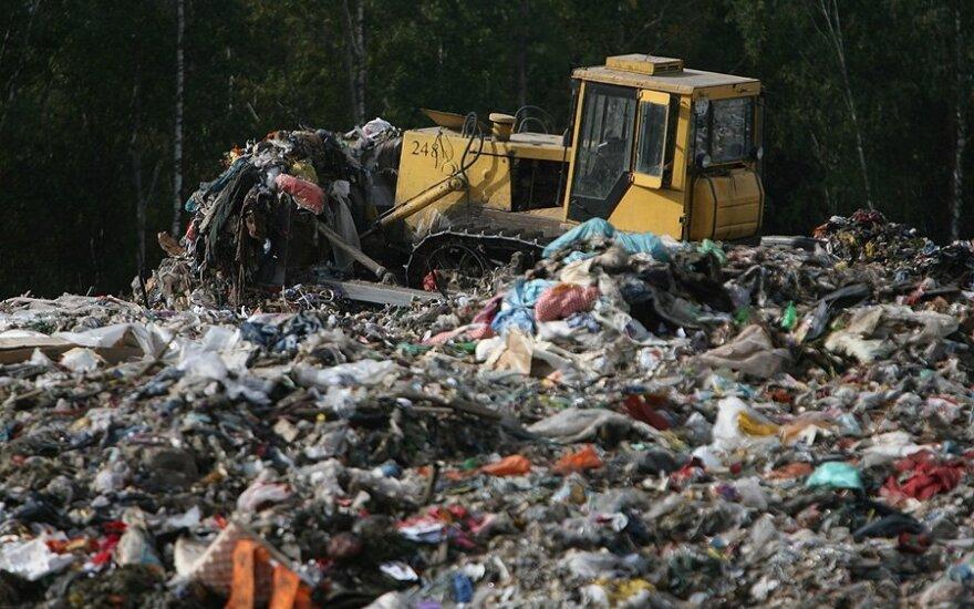 Kazokiškių sąvartyne, rūšiuojant atliekas, rasti naujagimio palaikai