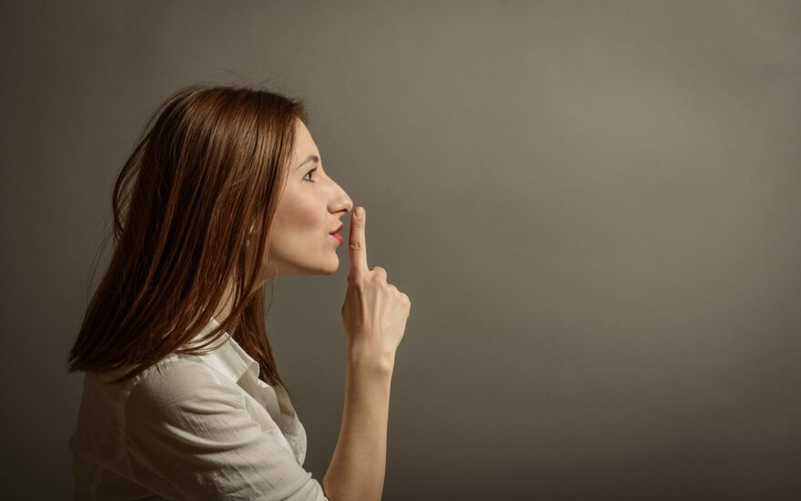 Dalykai, kurių geriau savo ir kitų labui nepasakoti