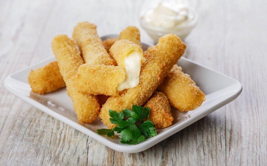 Traškios sūrio lazdelės