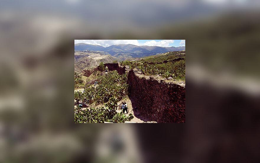 Peru,  Wari griuvėsiuose