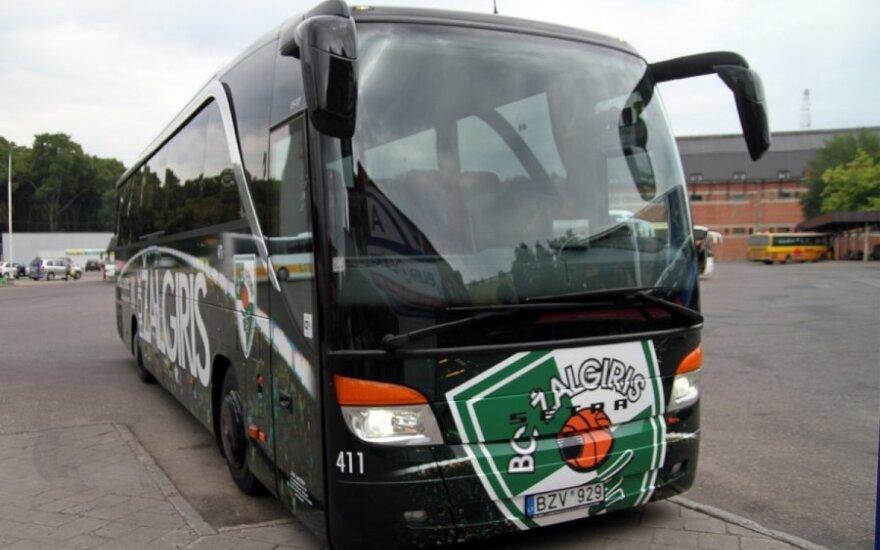 """""""Žalgirio"""" autobuso vairuotojas baiminasi vilniečių reakcijos"""