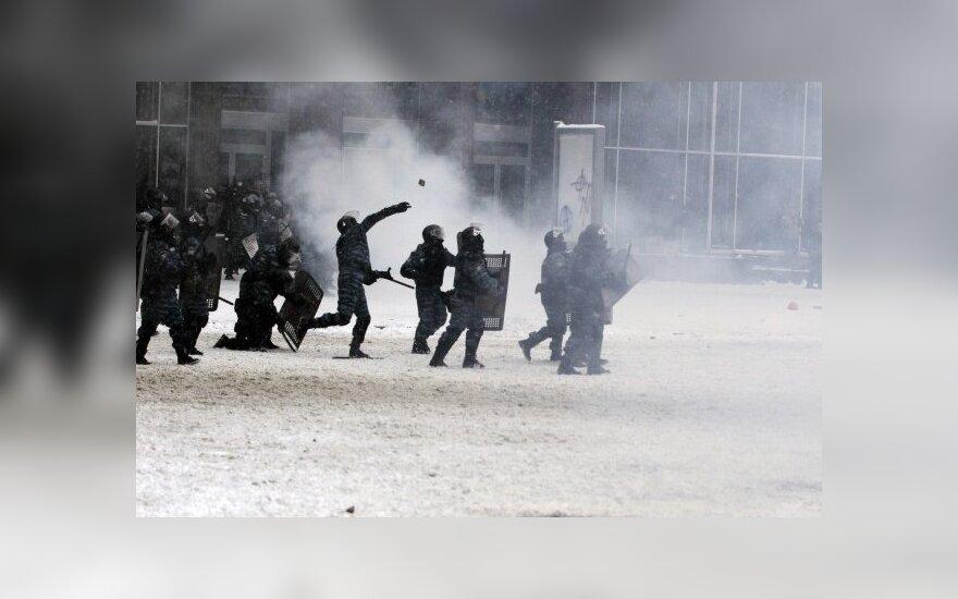 Prokuroras: Ukrainoje paleisti visi 234 protestuotojai