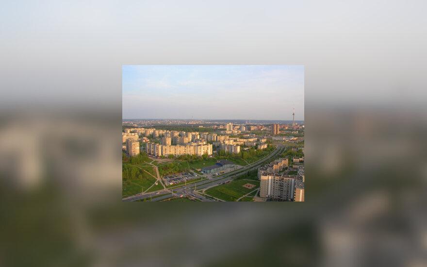 Vilnius, daugiabučiai, namai