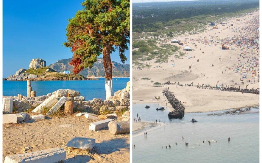 Atostogos Koso saloje ir Šventojoje: papasakojo, kiek išleido