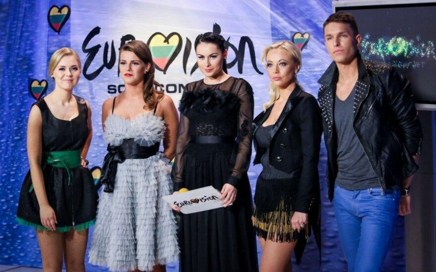 Eurovizijos atroankos filmavimas