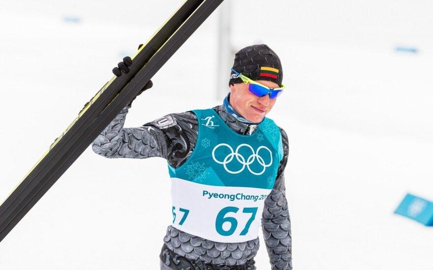 Mantas Strolia skiatlono 15 km + 15 km rungtyje