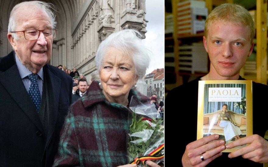 Karalius Albertas II ir karalienė Paola, Mario Danneelsas /Foto: VidaPress ir AFP