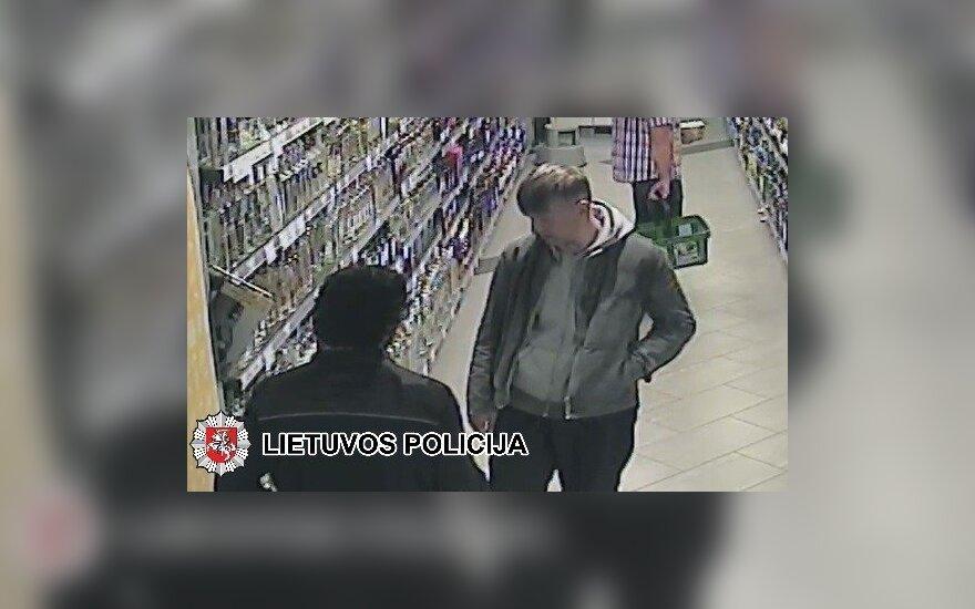 Policija prašo pagalbos: gal žinote, kur rasti užfiksuotą vyrą?