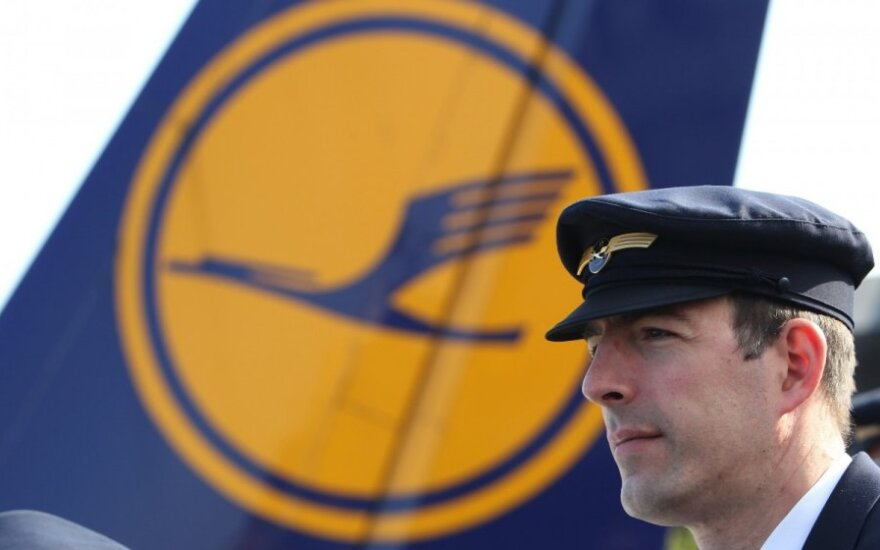 Lufthansa cancels flights from Vilnius due to pilots' strike