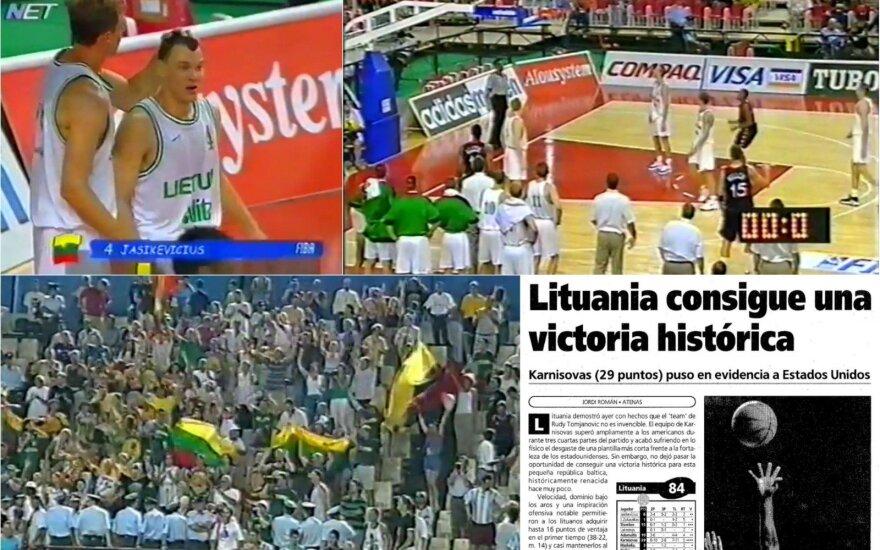 Kai pasaulis išgirdo Lietuvos vardą: mažytės Baltijos šalies pergalė prieš jėgą, laikytą nenugalima