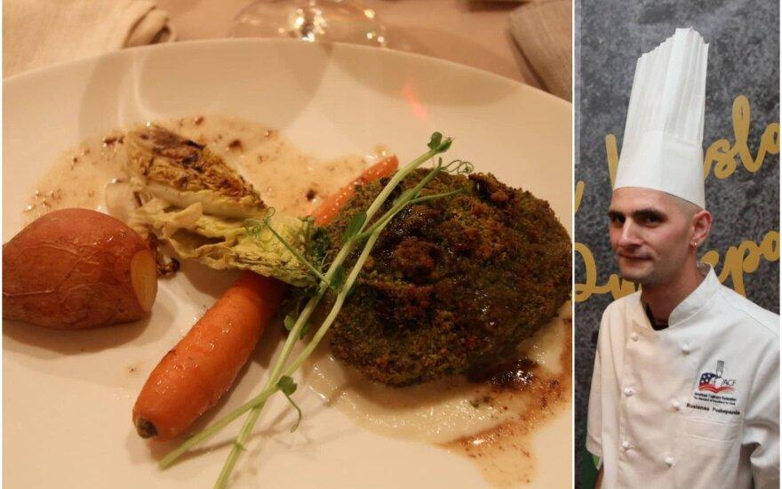 Vakarienė su Ruslanu Puskepaniu