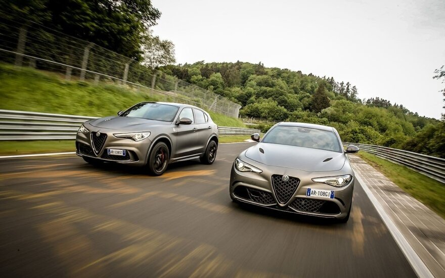 """""""Alfa Romeo"""" užsibrėžė tikslą - kurs tik greitus automobilius"""