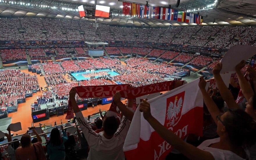 Europos tinklinio čempionato atidarymas Lenkijoje
