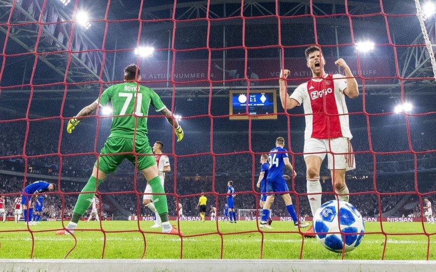 "Amsterdamo ""Ajax"" - Kijevo ""Dynamo"""