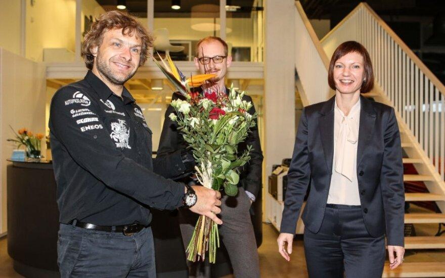 Benediktas Vanagas DELFI konferencijoje